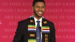 CTV News Channel: Graduate speech goes viral
