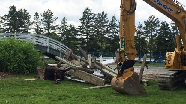 Opponents to Mooney's Bay playground to seek inju