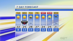 CTV Morning Live Weather May 31