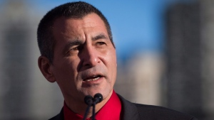 Hunter Tootoo is pictured in Vancouver, B.C., in this file photo from Wednesday, Dec. 16, 2015. (The Canadian Press/Darryl Dyck)