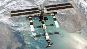 The International Space Station. (AFP PHOTO/NASA/HANDOUT)