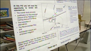 Public meeting held regarding closure of 417 on-ra