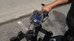 Ottawa police officers are using new technology to crack-down on drivers who aren't sharing the road.