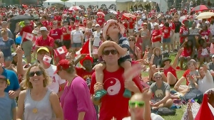 CTV Ottawa: Canada Day downtown