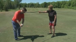 Golf Tips: Using the lead arm