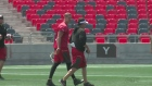 New look to Redblacks offence