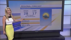 CTV Morning Live Weather July 25