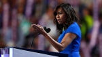 First Lady Michelle Obama speaks during the first day of the Democratic National Convention in Philadelphia, Monday, July 25, 2016. (AP / Paul Sancya)