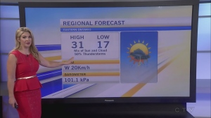 CTV Morning Live Weather July 27