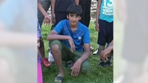 Behzad Ahmad, 11, was swept away in the current of the Yoho River on Friday, July 22, 2016.