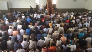 Abdirahman Abdi Funeral