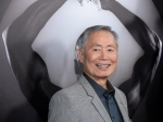 Actor George Takei attends the premiere of 'Mapplethorpe: Look at the Pictures' in Los Angeles on March 15, 2016. (Phil McCarten / Invision)