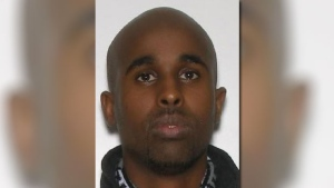 "The suspect has been identified as Hamze Abdi Ahmed, 28 years old, of Ottawa. He is described as a Black male, slim build, 5' 10"", 160 lbs. (Ottawa Police Handout)"