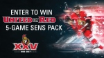 Win our United in Red 5-Game Sens Pack to the Ottawa Senators upcoming Season!