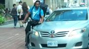 CTV Ottawa: Toronto taxi strikes cyclist