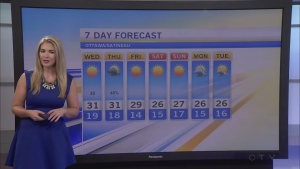 CTV Morning Live Weather August 24