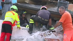 CTV Ottawa: Italy's earthquake zone
