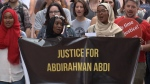 Rally for Abdirahman Abdi