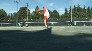 Seniors tennis tournament in Ottawa