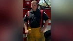 Community backs fire department after two charged