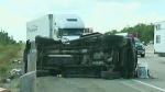 CTV Kitchener: Driver charged after Hwy 401 crash
