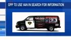 OPP use unique van in investigation