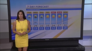 CTV Morning Live Weather Aug 30