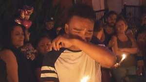 Candlelight vigil for grandmother gunned down in Toronto.