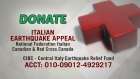 Canadian support for quake victims