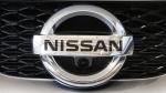 Nissan emblem at the Pittsburgh International Auto Show, on Feb. 11, 2016. (Gene J. Puskar / AP)