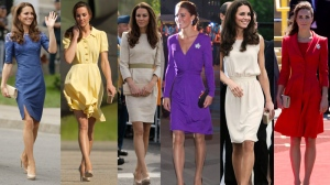 <b>The Duchess of Cambridge was both chic and comfortable during her royal tour of Canada back in 2011. She paid tribute to Canadian designers, she recycled outfits, and stunned in standout pieces. Here&#39;s a look back at her outfits in anticipation of her next Canadian tour, this time with two children in tow.</b>
