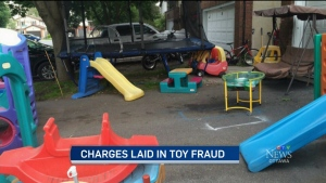 CTV Ottawa: Charges laid in toy heist
