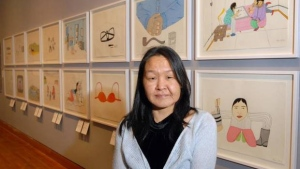 Acclaimed Inuit artist Annie Pootooglook found dead in Ottawa's Rideau River on Sept. 19, 2016. (CNW Group)