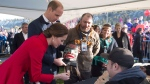 The Duke and Duchess of Cambridge attend a community festival in Whitehorse, Yukon, Wednesday, Sept 28, 2016. THE CANADIAN PRESS/Jonathan Hayward