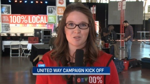 CTV Ottawa: United Way kick-off