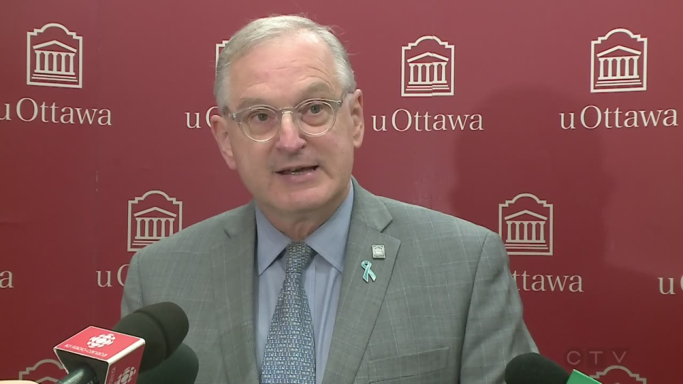 CTV Ottawa Extended: uOttawa full news conference