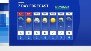 CTV Ottawa: Friday 6 p.m. weather update