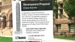fake condo development sign in Toronto