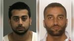 Ali Abdul Hussein (left), 28 of Ottawa and Mahmoud Kayem (right), 32 of Ottawa. (Ottawa Police handout)