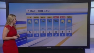 CTV Morning Live Weather Oct 25
