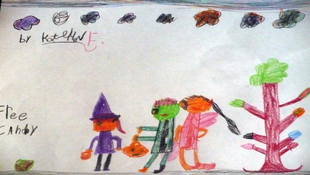 Katelyn Fewtrell, 7 years old, Grade 2, Roch Carrier Elementary School