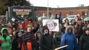CTV Ottawa: Glengarry students protest