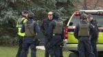Police on scene of school lockdown