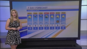 CTV Morning Live Weather Oct 26