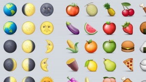 Emojis are shown in a handout photo. (THE CANADIAN PRESS/HO)