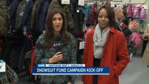 CTV Ottawa: Snowsuit Fund's official kick-off