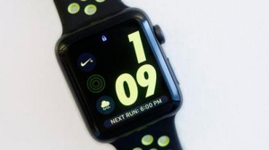 Apple isn't the first to add GPS functionality to a smartwatch, but it's the first to make something that feels like a running watch. And the company is doubling down on that with a Nike edition out Friday, Oct. 28. (AP Photo/Mark Lennihan)