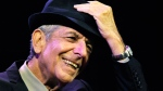 Leonard Cohen performs at the Coachella Valley Music & Arts Festival in Indio, Calif., on April 17, 2009. (Chris Pizzello / AP)