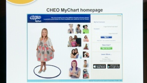CHEO MyChart lets patients and their family access electronic medical records online.