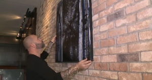Simpson said painting has become a way for him to de-stress from intense days on the job.